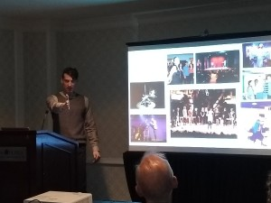 """Teaching """"Therapy as a Performing Art"""" at the Psychotherapy Networker Symposium, 2019."""