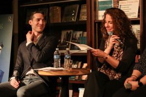 "Robin Weigert reading from ""The Performing Art of Therapy."""